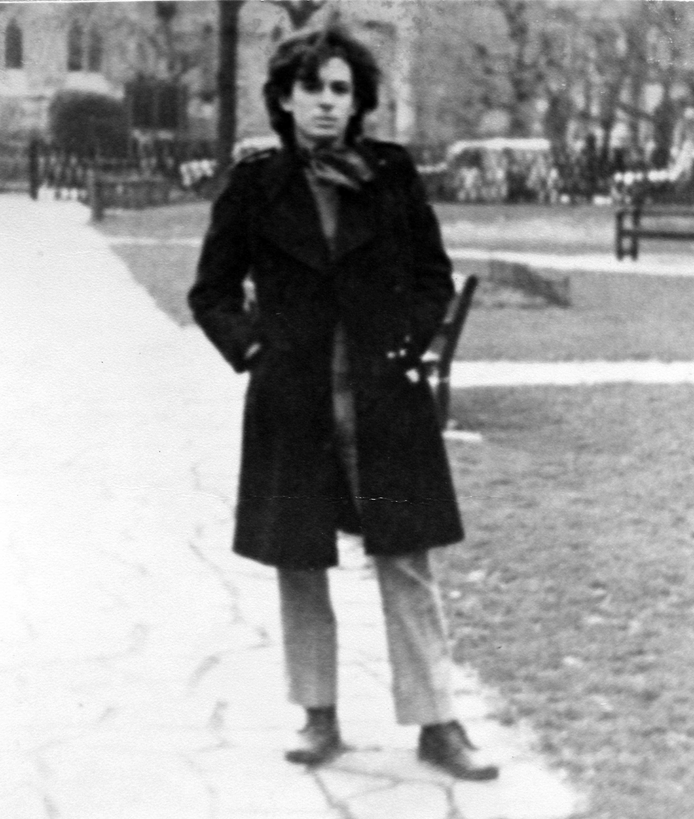 Torquato Neto em Londres, 1969 | Arquivo Torquato Neto