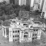 Demolição do Palácio Monroe em 1976 | Agência O Globo