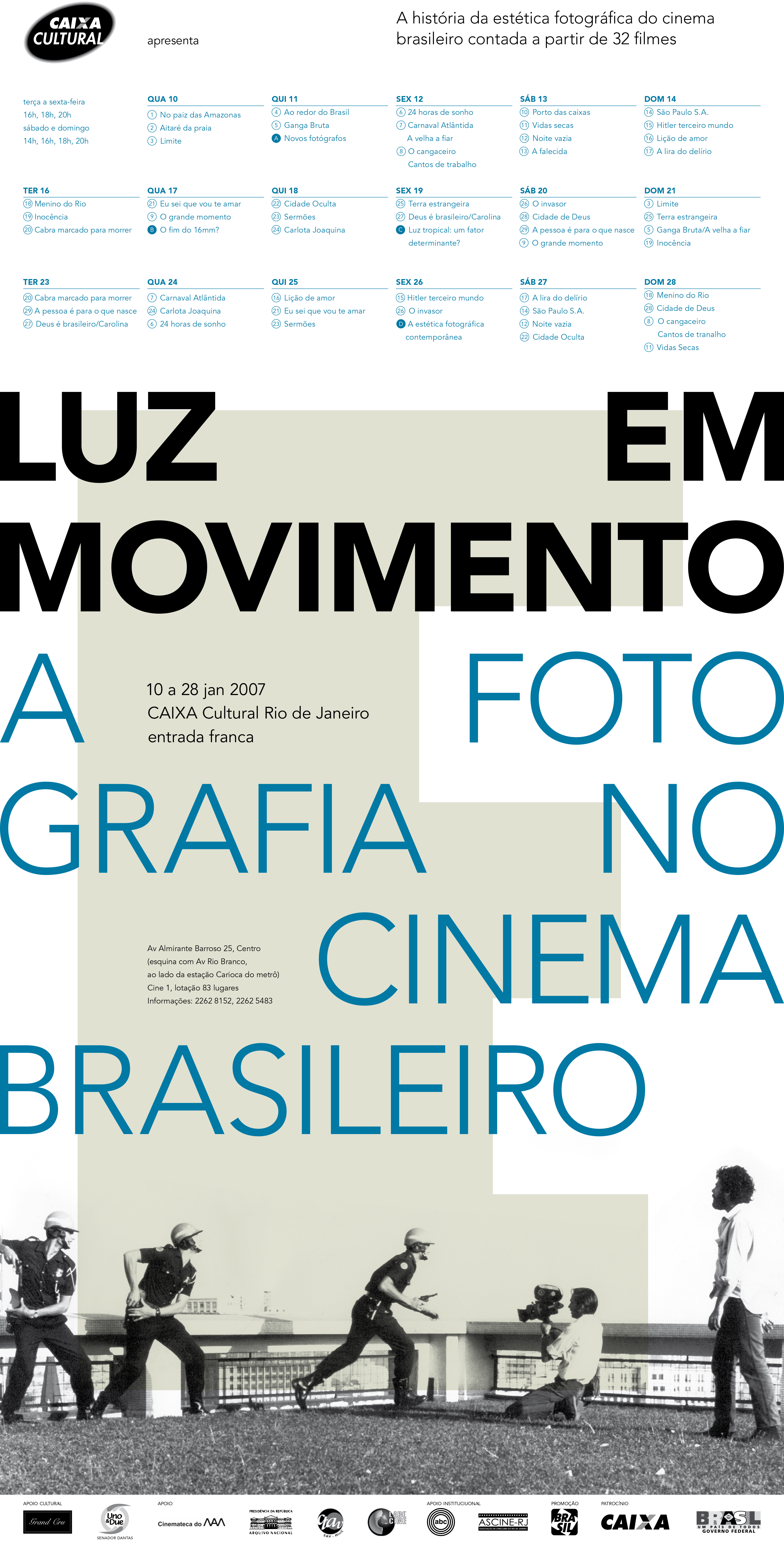 Cartaz/folder | Layout Thiago Lacaz