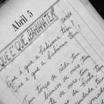 Caderno de originais de Dorival Caymmi | Foto: João Felipe Freitas